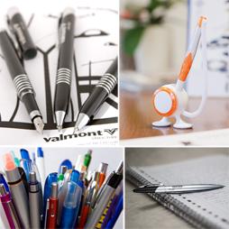 Długopisy pióra ołówki
